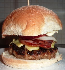 Our awesome tasting Ranch Burger