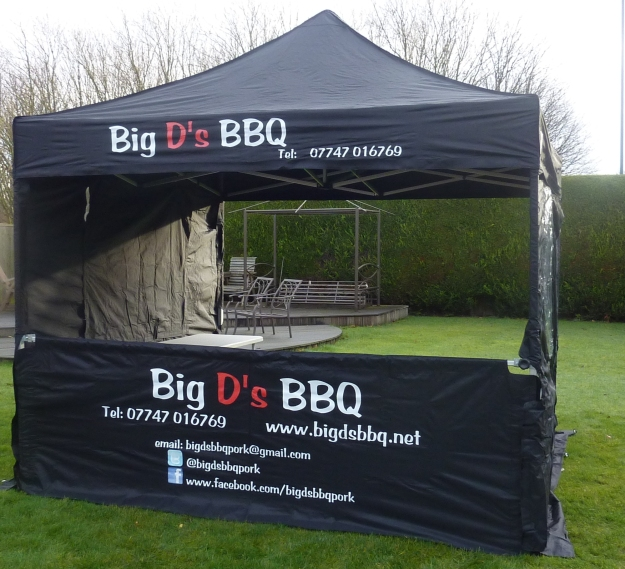 One of our new serving Gazebo's